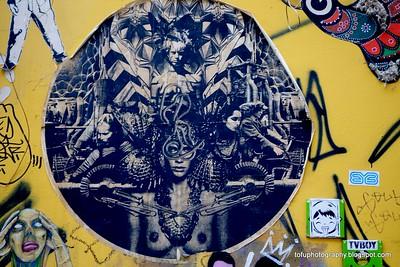 Graffiti in Berlin - February 2014