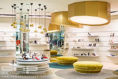 Harvey Nichols shoe department