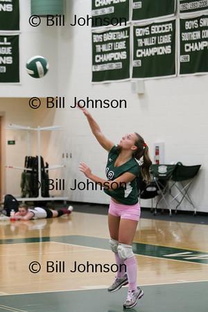 Var Volleyball v Dedham 9_30_11