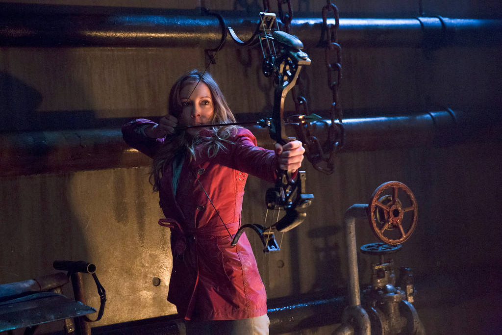 """. Katie Cassidy as Laurel Lance in The CW\'s \""""Arrow.\""""  (Photo by Jack Rowand/The CW -- © 2014 The CW Network, LLC. All Rights Reserved.)"""