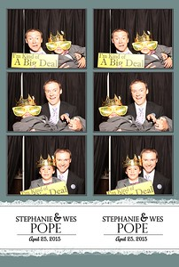 Stephanie and Wes Pope, 04-25-2015
