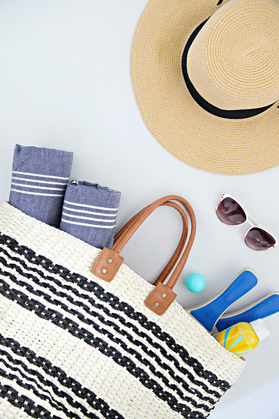 Organized Beach Bag