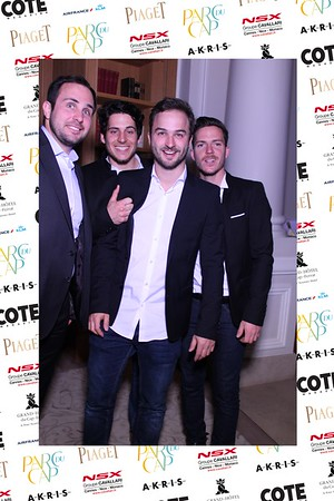 Cote & Air France party