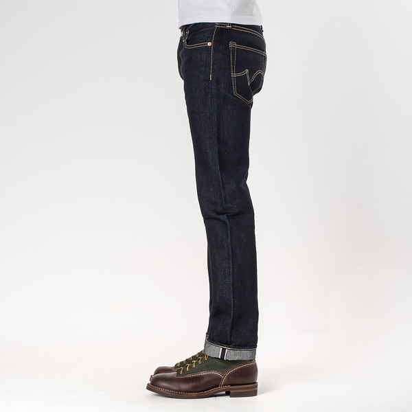 IH-666S-PD - Indigo 18oz Money Denim Slim Cut-6512.jpg