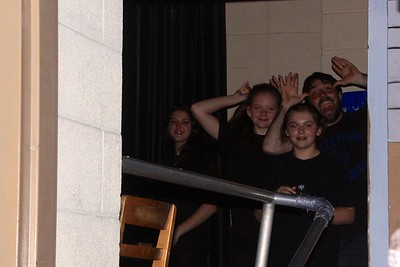 1 May 2015 - Annie Night 2 - Back Stage
