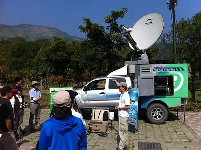 20121026 日本歐洲學者參觀觀測站
