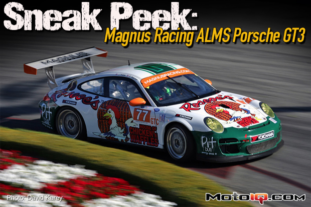 Sneek Peak: A Look Inside Magnus Racings ALMS Porsche GT3