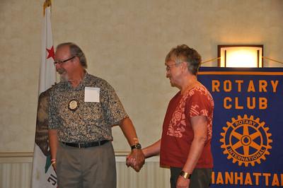 Rotary 8/27/12  Cabrillo Acquarium featured speaker