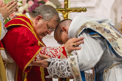 Cardinal Burke and Solemn High Pontifical Mass of Priestly Ordination