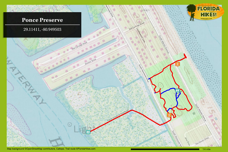 Ponce Preserve Trail Map