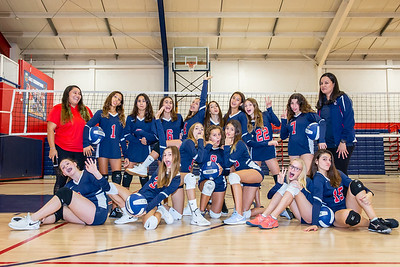 2019 Middle School Varsity Volleyball