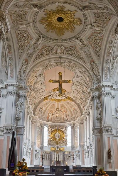 Würzburg. Dom St. Kilian, Chor