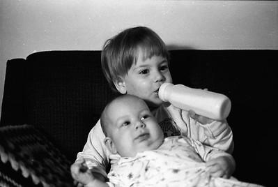 Joseph, Jonathan and David Scoglio 1974