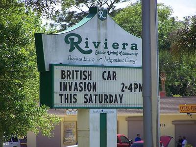 British Invasion at the Riviera