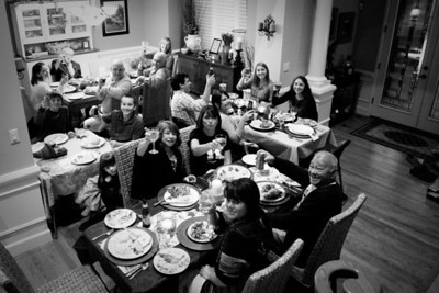 Thanksgiving at the Fosters 2012
