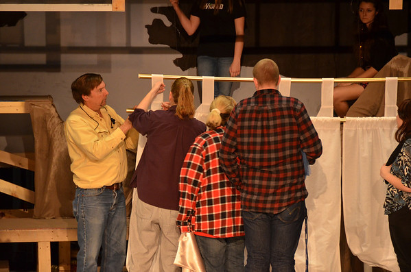 Once On This Island - 1/10/12 Rehearsal
