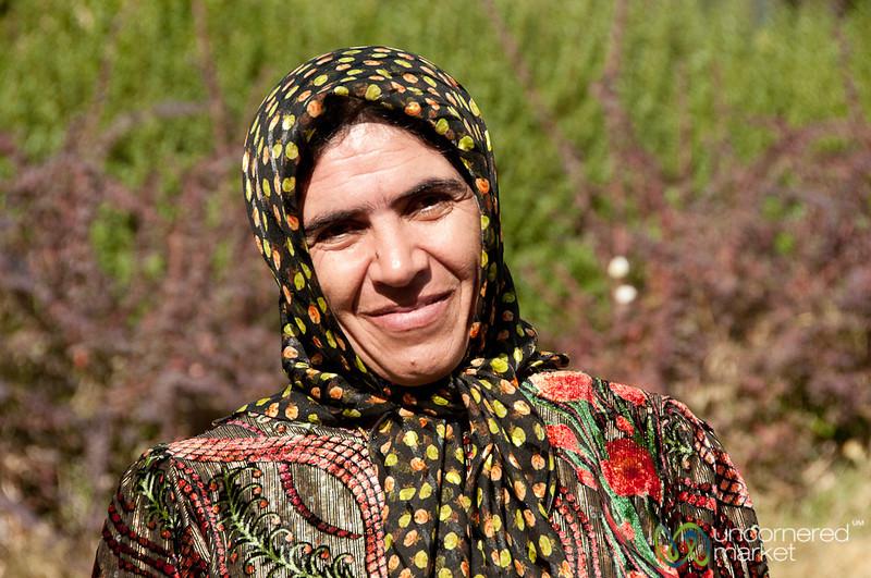Iranian Woman - Persepolis, Iran