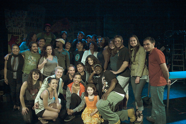 Cast & Crew shots from RENT's Anniversary Performance