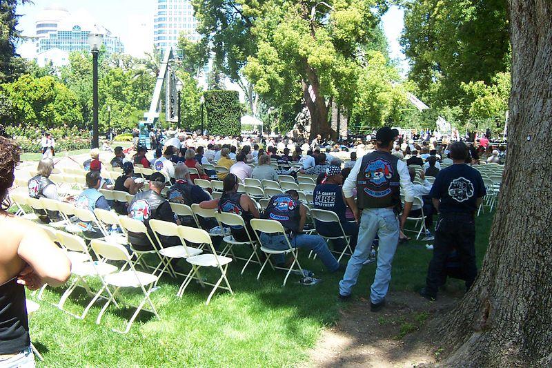 Santa Barbara, Central - Sierra, & LA County Chapters viewing Ceremonies