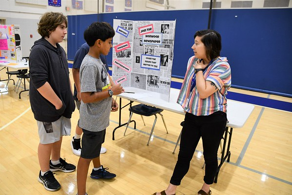 Choices, Choices, and More Choices at the Middle School Activities Fair
