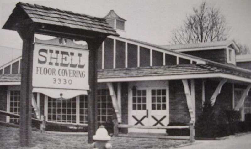 . Shell Floor Covering, at 3330 Dixie Highway, now Michigan Filter & Fleet Supply.