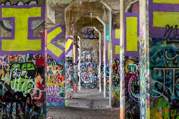 Graffiti Pier Philadelphia