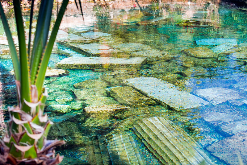 Cleopatra's Pool Pamukkale Turkey