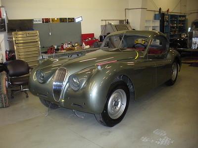 1953 Jaguar XK 120 Restoration Progress - Larry Wiser