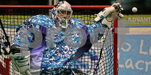 3/16/2013 - Edmonton Rush vs. Rochester Knighthawks - Blue Cross Arena, Rochester, NY