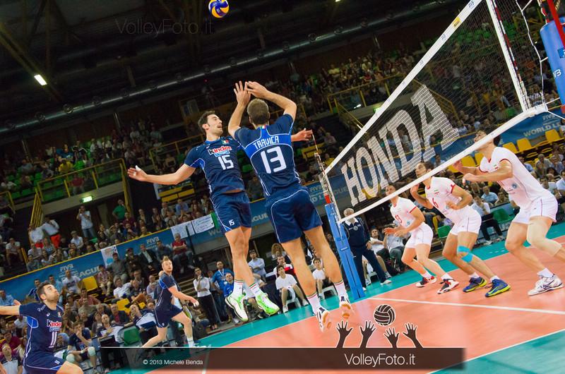 Travica e Birarelli [ITA] - Italia-Iran, World League 2013 - Modena