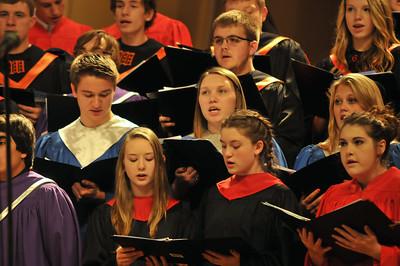Dairyland Honors Band/choir 2014-15