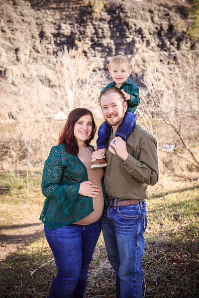 The Bauer Family   April 2021