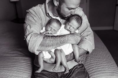 Woolridge Twins | Lifestyle Newborn, exp. 9/24