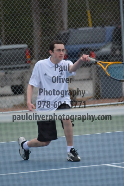 Shawsheen Tech Varsity Tennis Team 2014 Season
