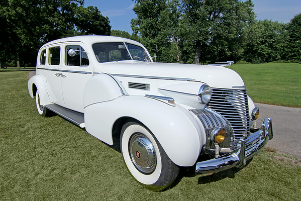 Classic cars and trucks and hood ornaments