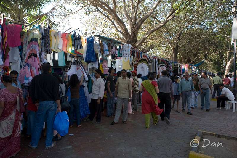 Fashion Street - most of the clothes here cost around 80-180 rupees ($2-$4.50).