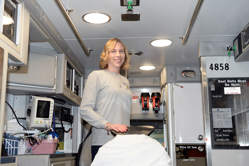 Andrea Rodgers, Spring Lake First Aid Squad, People Story, 01/05/2019.(STEVE WEXLER/THE COAST STAR).