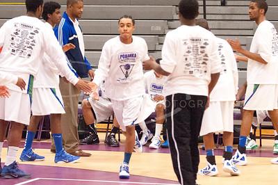 Boys Basketball - Green Run Stallions v Mills Godwin Eagles, Wednesday, December 28, 2011