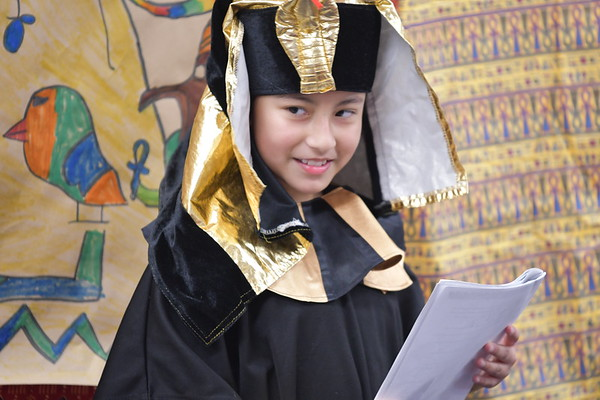 Egyptian Tales Come to Life During Fourth Grade Readers' Theater