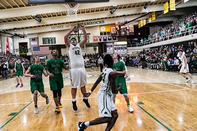 2019-02-08 Basketball Varsity - Pats VS ND