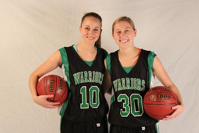 Girls Basketball Shoot