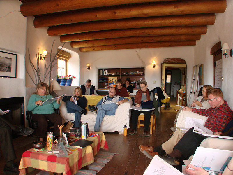 We meet as one group, http://stillpointca.org/ghostranch.html http://www.ghostranch.org/courses-and-retreats/stillpoint
