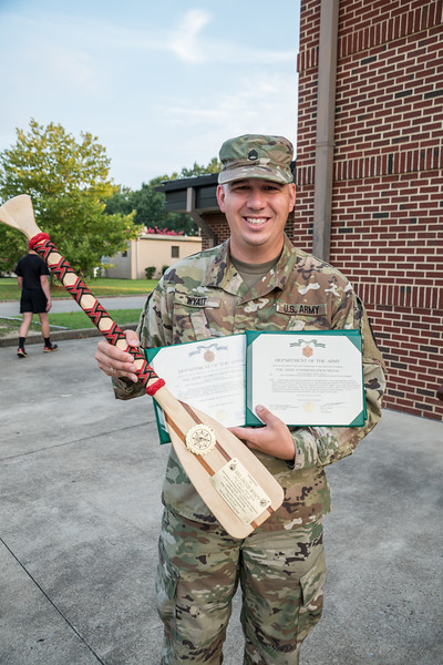 SSG Wyatt farewell presentation awards 16 July 19