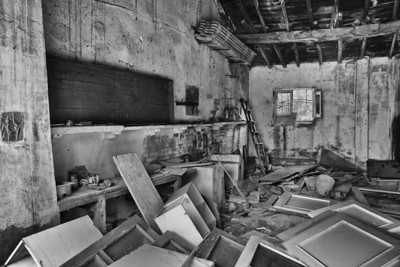 More abandoned places B&W