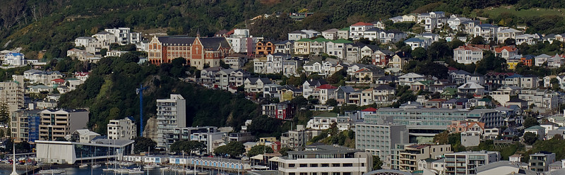 Wellington City and Suburbs
