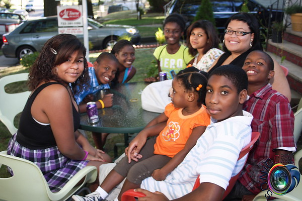 SEPTEMBER 5TH: MARLYNE'S COOKOUT