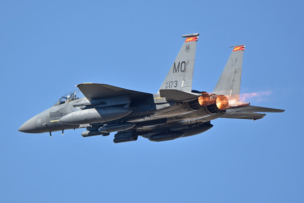 F-15 Strike Eagles of the 366th Fighter Wing