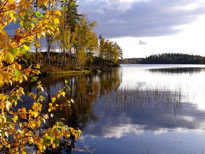 Höst-sjö