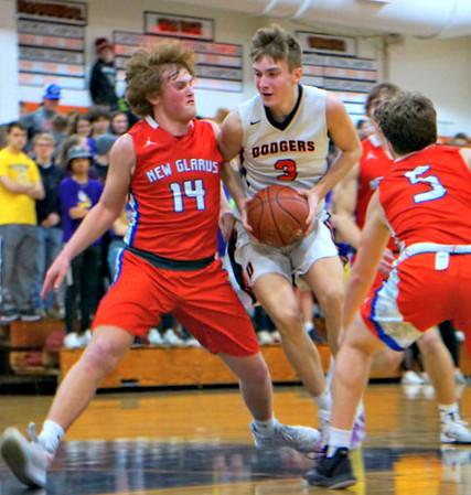 New Glarus  @ Dodgeville Boys Basketball 1-27-20