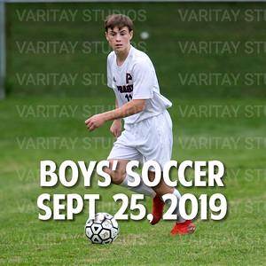 Prairie Boys Soccer, Sept. 25, 2019